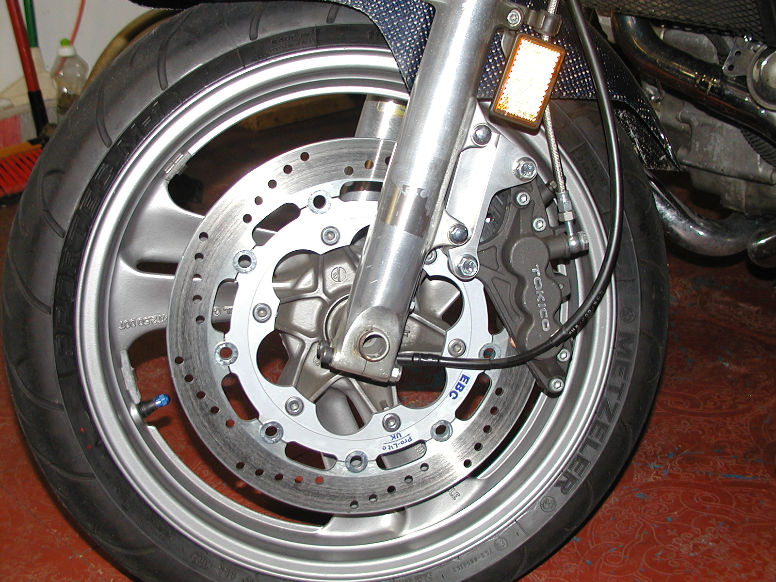 Ebc Brakes Review >> Steve Lenac's Tokico brake caliper adapter
