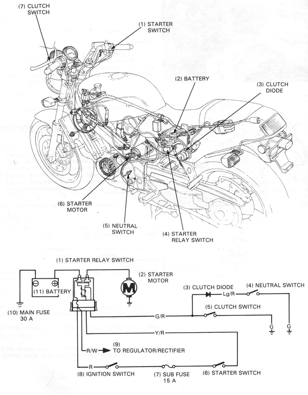 Honda Nt650 Service Manual Section 17 Electric Starter Diode Wiring Diagram Really Big Version Color