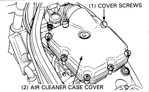 honda nt650 service manual section 3 maintenance rh hawkworks net Honda Motorcycle Service Manual Honda Motorcycle Service Manual