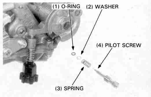 Works Connection Fuel Mixture Screw Assembly with Spring Washer /& O-ring