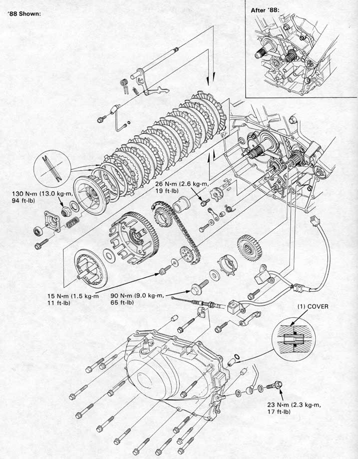 Ktm Clutch Diagram
